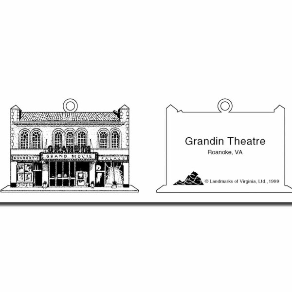 grandin theater christmas ornament virginia ornament