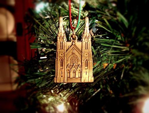 Saint Andrew's Catholic Church - Saint Andrew's Catholic Church Christmas Ornament |Virginia